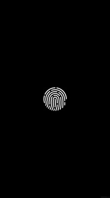Touch id iphone6 wallpaper