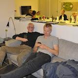 Torben og Mortenhænger udi sofaen