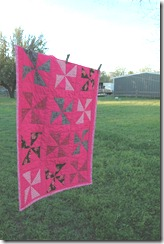 bake sale &amp; pink quilt 071