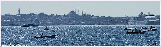 Босфор. Стамбул. Фото Н.Косарева. www.timeteka.ru
