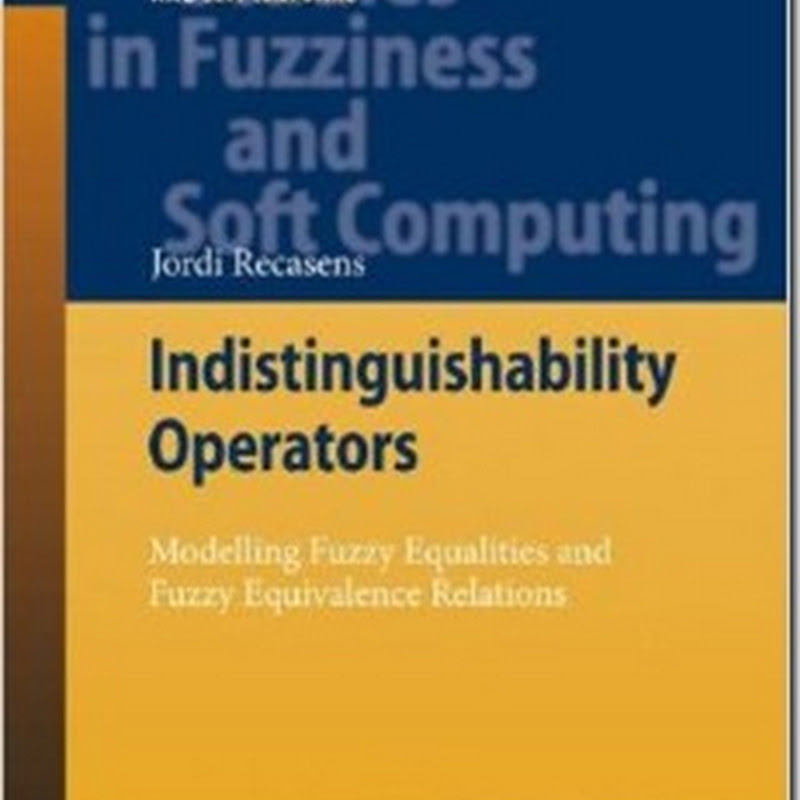 Jordi Recasens - Indistinguishability Operators