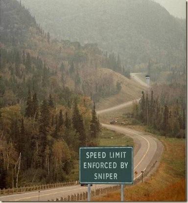 speed warning