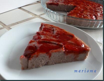 tarta facil de fresas,racion copia