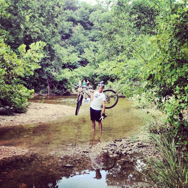 Mounting biking in Austin Texas