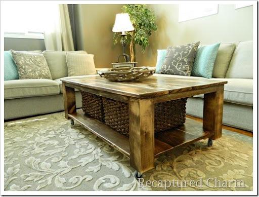Rustic Coffee Table 6
