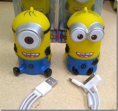 Powerbank Minion 3600Mah 110rb