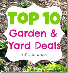 top ten garden and yard deals
