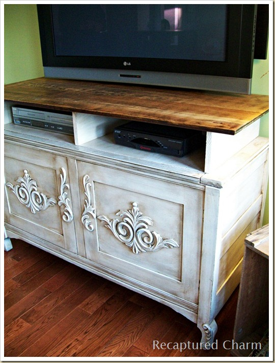 wooden entertainment unit after 012a