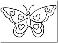 mariposa jugarycolorear c