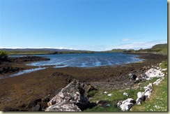 Receding tide Dunvegan Loch (Small)