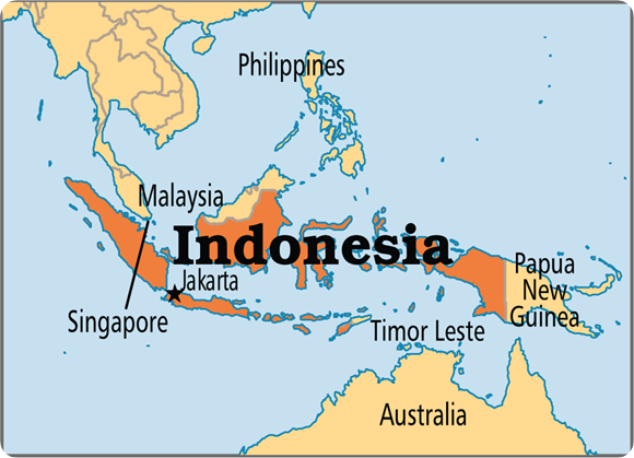 places vacation in indonesia