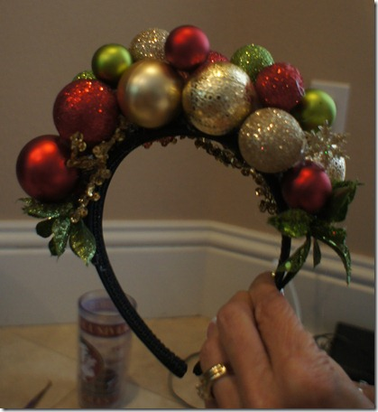 Making Christmas Headbands Christmas Bulb Headbands or