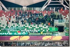 Sportinguistas em Varsóvia