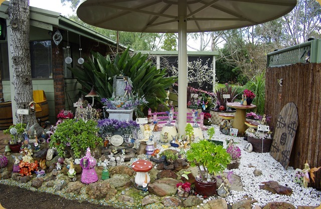 Fairy Garden at Denman Caravan Park