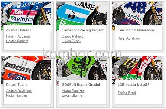 motogp team 2013