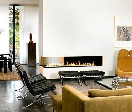 sala contemporanea estilo minimalista