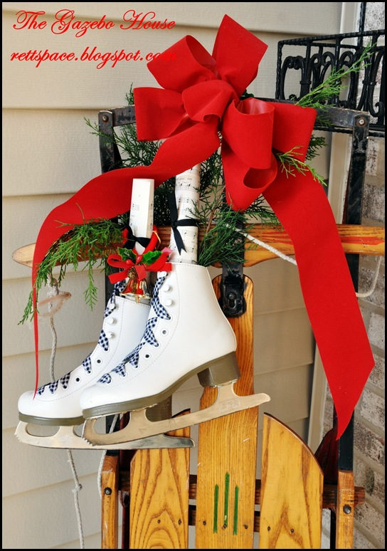 Ice skates on sled 003