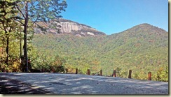 View of Table Rock From Road
