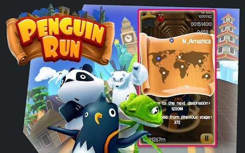 Free Penguin Run APK for Windows 8