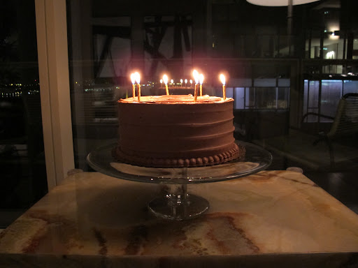A chocolate salt cake from Baked was the perfect ending to the perfect birthday meal (http://bakednyc.com/).