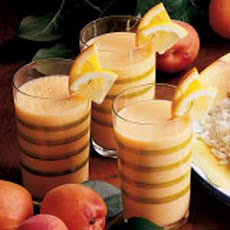 Frothy Apricot Drink