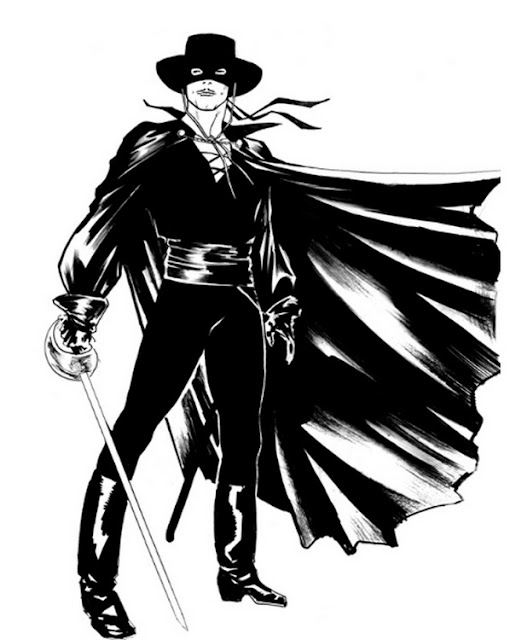 Coloring Pages Zorro : Zorro coloring pages