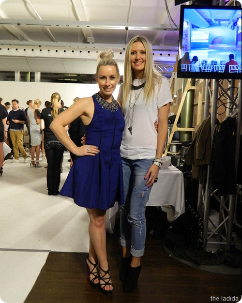 Cleo and Swarovski Backstage (1)