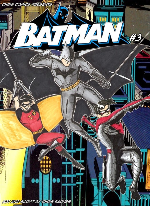 Batman and Robin 001 variant