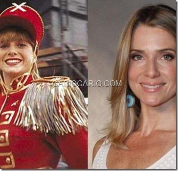 Letícia Spiller, a Pituxa Pastel, se consagrou como atriz e hoje está em 'Salve Joge', na Globo, como a ex-modelo Antonia