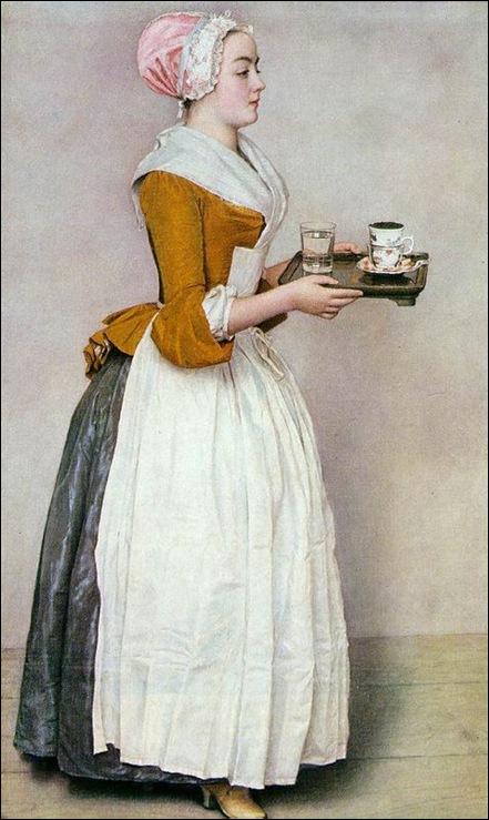 Liotard, La belle chocolatière