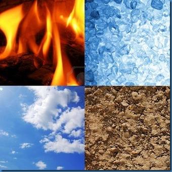 6160647-i-quattro-elementi-della-terra-acqua-vento-e-fuoco