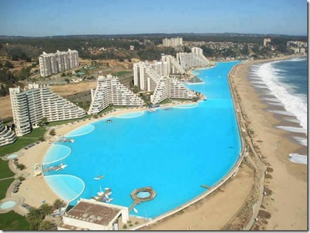Worlds Biggest Swimming Pool, San Alfonso del Mar, Chille