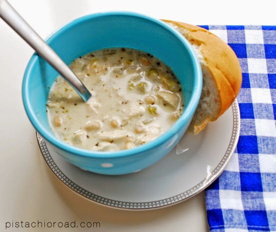 PistachioRoad White Chicken chili