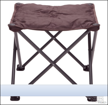 Outdoor Ottoman   Mac Sports RO904S 117   Folding Chairs   Camping World