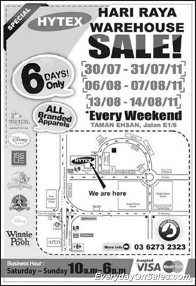 Hytex-Warehouse-Sale-2011-EverydayOnSales-Warehouse-Sale-Promotion-Deal-Discount