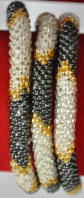 Rollover Bracelets White Series