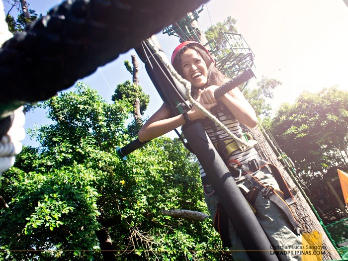 The Silver Surfer at Subic's Tree Top Adventure