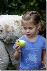 Apple Picking Hannah 2