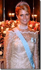 Princess Madeleine - Ceremony - Tiara