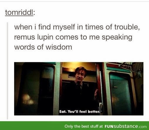 Remus gets it.