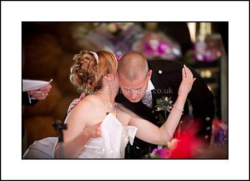 happy bride at piperdam resort