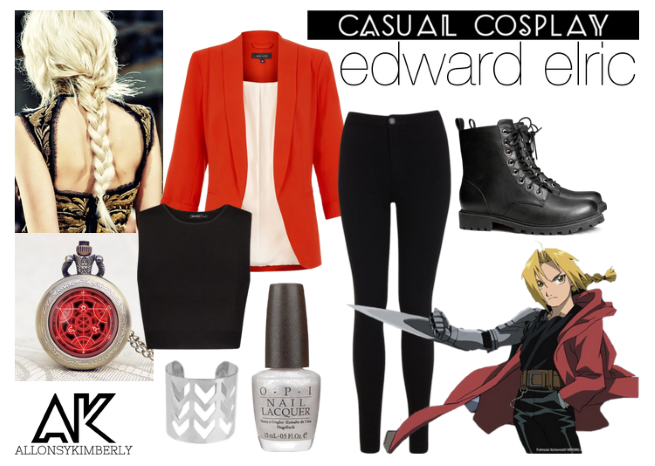 Causual Cosplay: Edward Elric | allonsykimberly.com