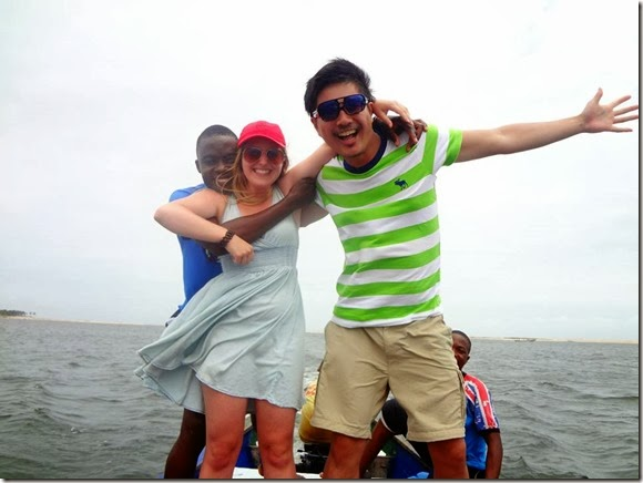 Marantha boat trip