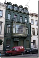 An Art Nouveau building on Rue Royale (near Cornet de Grez)