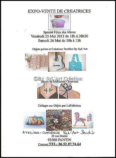 Affiche Expo fete des mères 001