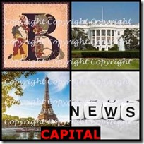 CAPITAL- 4 Pics 1 Word Answers 3 Letters