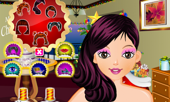 Screenshot of Happy Christmas dressup