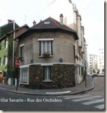 la rue Brillat-Savarin, construite au dessus de la Bièvre.