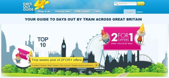 倫敦景點門票2FOR1優惠