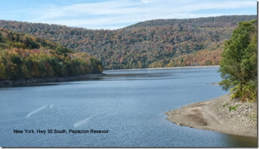 New York, Hwy 30 South, Pepacton Resevoir
